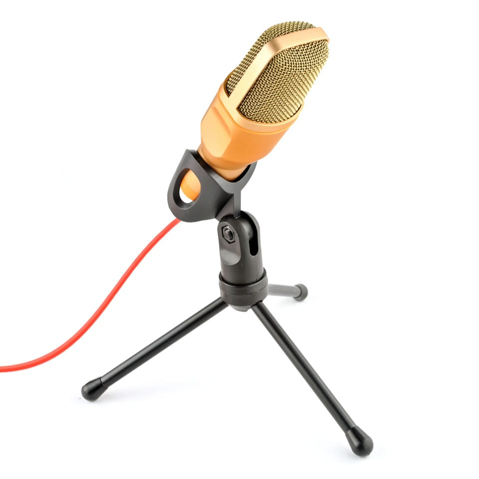 Sf666 Professional Condenser Microphone for Computer Laptop