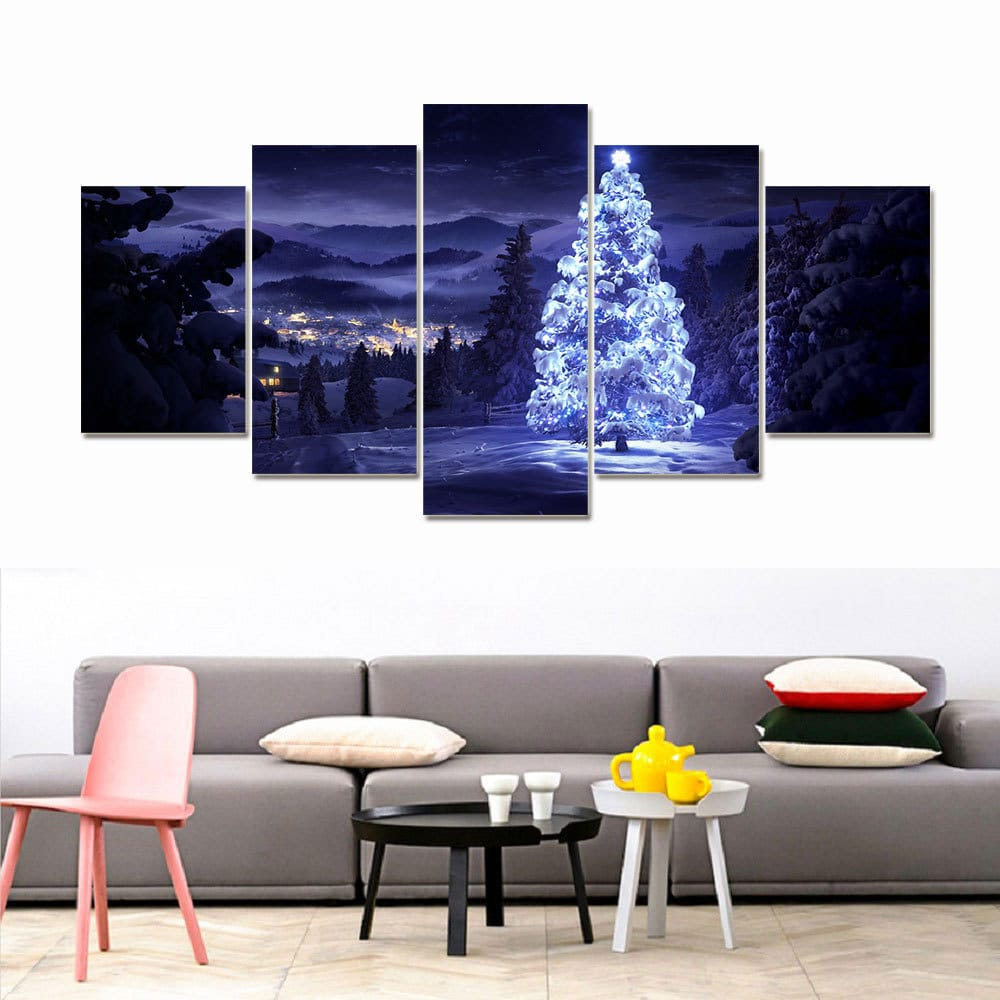 5 Cascade Wall Combination Painting Picture Home Decoration