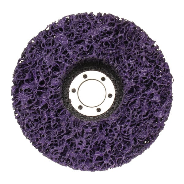 125mmx22mm Poly Strip Disc Wheel Paint Rust Removal Clean