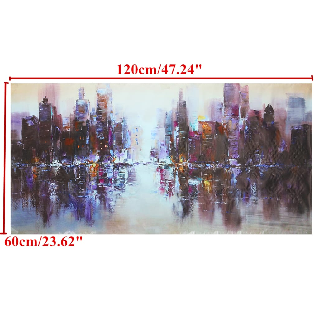 Abstract City Canvas Art Paintings Print Picture Unframed