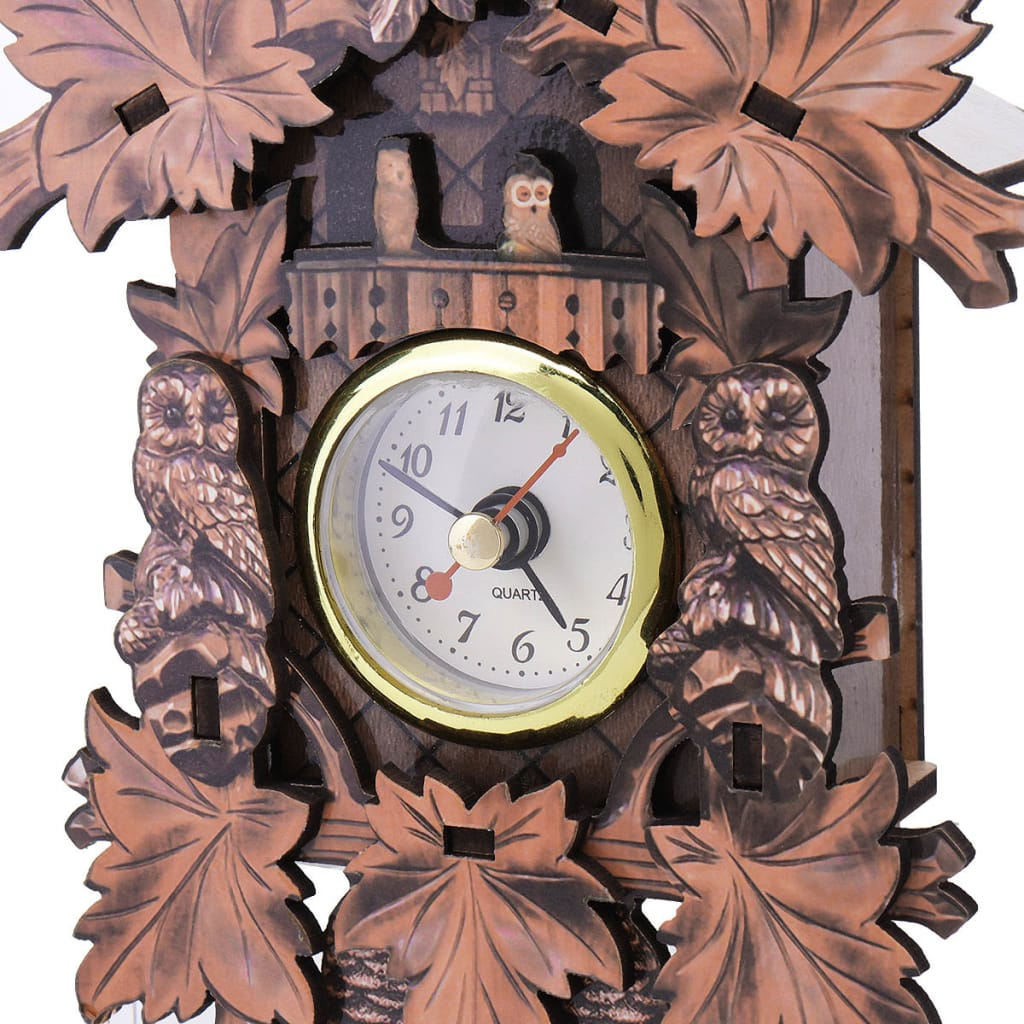 Owl Bird Decorations Home Cafe Art Chic Swing Vintage Wood