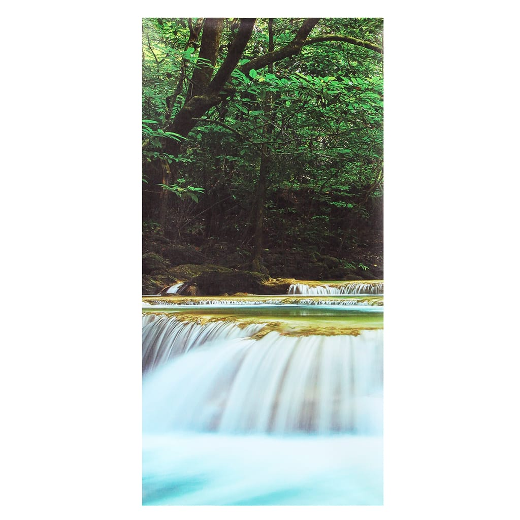 30x60cm 5pcs Canvas Painting Forest Waterfall Wall Art