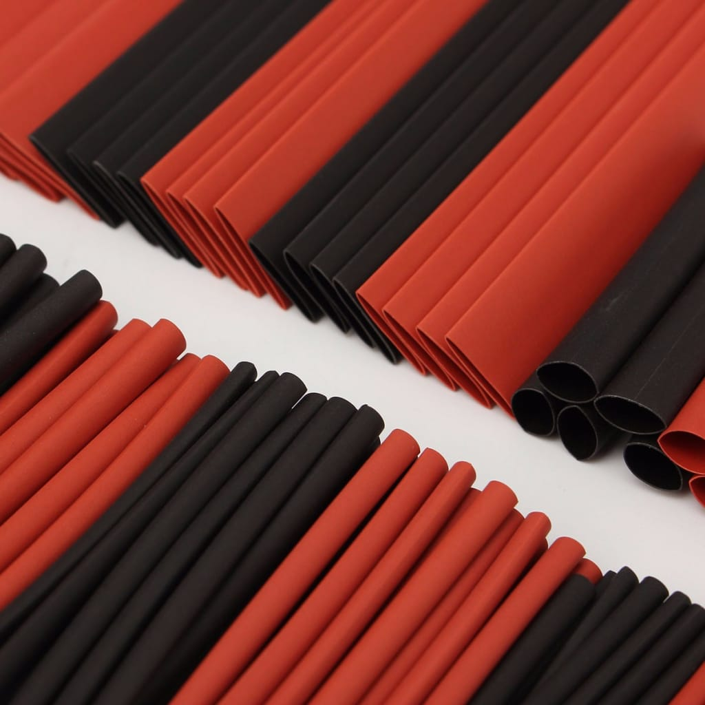 150 Pcs Halogen-free 2:1 Heat Shrink Tubing Wire Cable