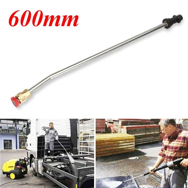 600mm Pressure Washer 15° Wash Nozzle Angled Lance Extension