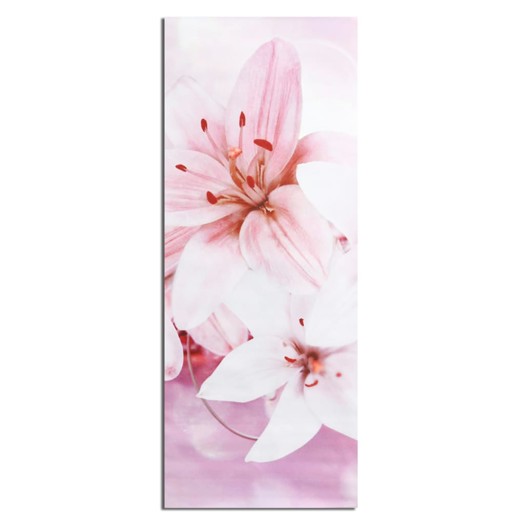 5pcs Frameless Canvas Paintings Lilies Art Paint for Home