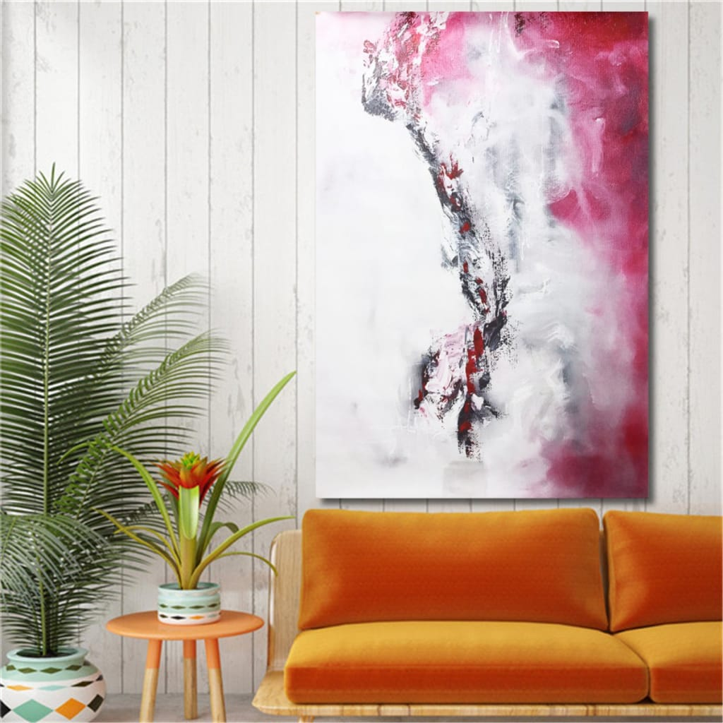 Modern Abstract Canvas Oil Print Paintings Unframed - 2