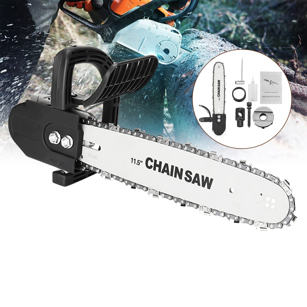 11.5 Inch Chainsaw Bracket Woodworking Tool Change 100 Angle