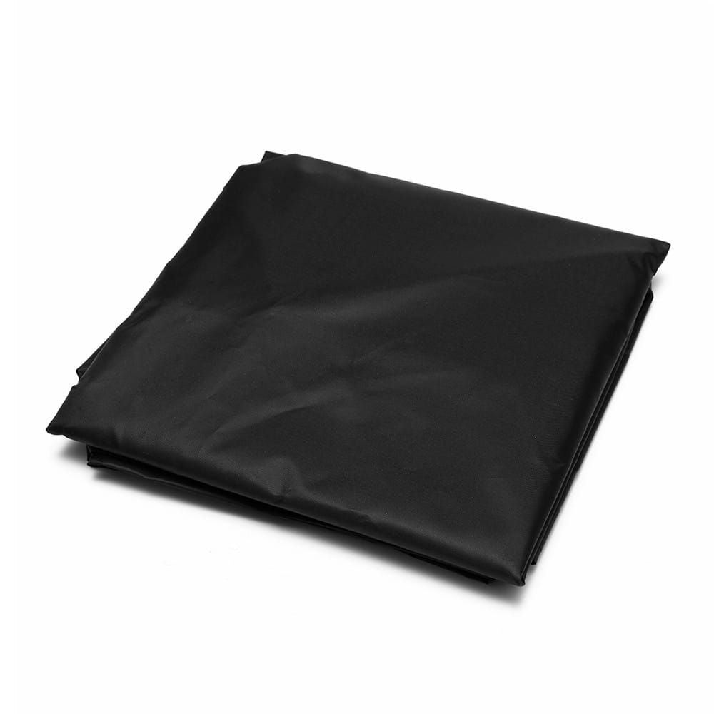 210d Oxford Cloth Black Weatherproof Waterproof Dustproof