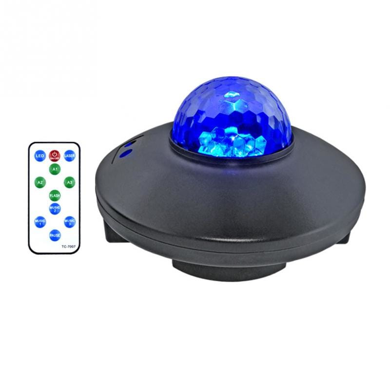 Bluetooth Music Led Starry Sky Projection 10 Modes Night
