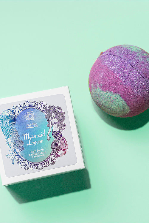 Mermaid Lagoon Ring Bath Bomb