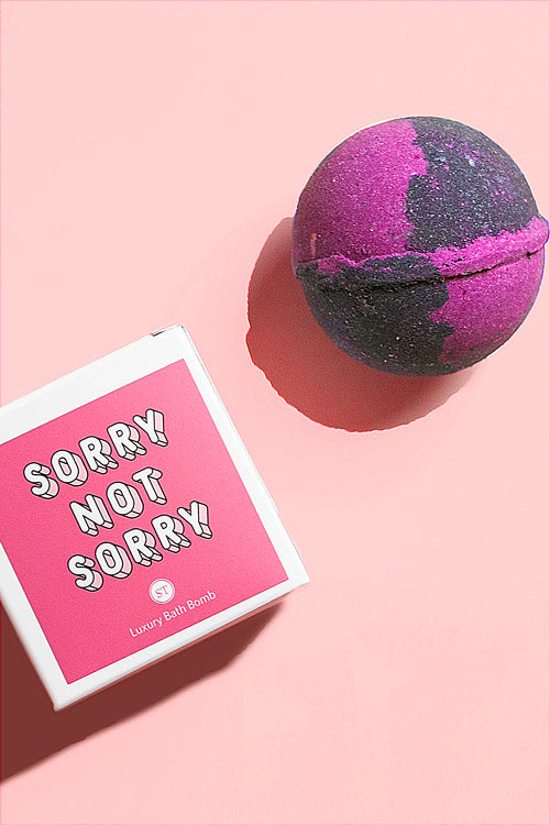 Sorry Not Sorry Ring Bath Bomb