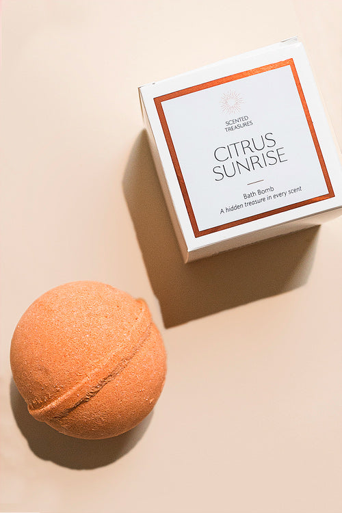 Citrus Sunrise Ring Bath Bomb