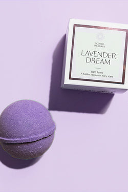 Lavender Dream Ring Bath Bomb
