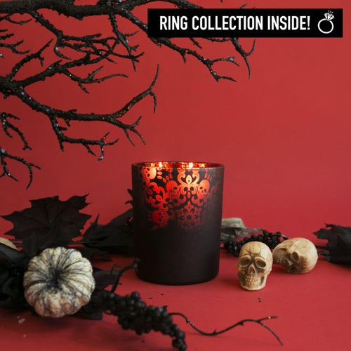 Victorian Vampire Ring Candle Halloween Candle With Ring