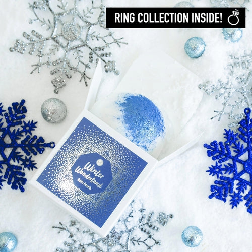 Winter Wonderland Ring Bath Bomb