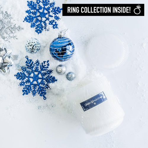 Winter Wonderland Ring Candle