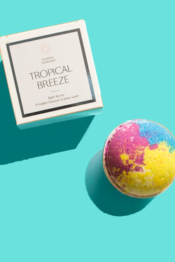 Tropical Breeze Ring Bath Bomb