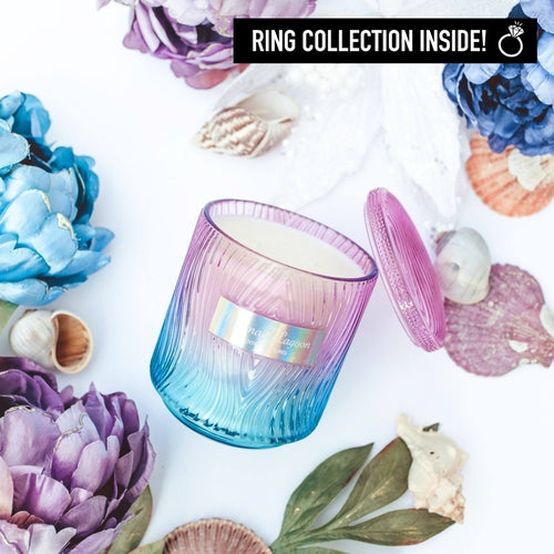 Jewel Candles - Mermaid Lagoon Ring Candle