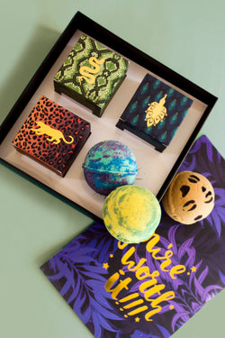 Jungle Bath Bomb Set