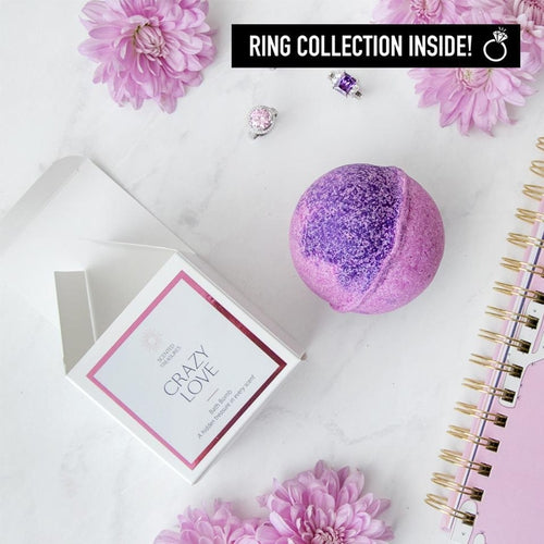 Ring Bath Bombs - Crazy Love Ring Bath Bomb