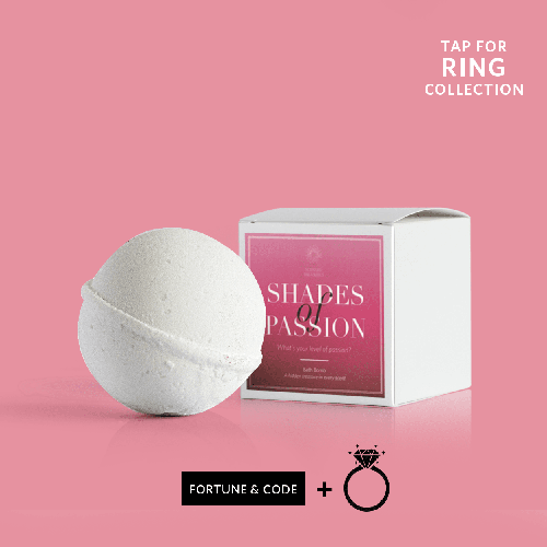 Ring Bath Bombs - Shades Of Passion Mystery Ring Bath Bomb