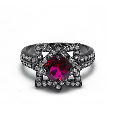 Ring Store - Black Thorn Rose