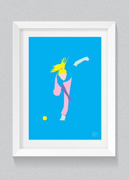 'BOWL LIKE A GIRL' ELLYSE PERRY - FREE SHIPPING ANYWHERE IN AUSTRALIA