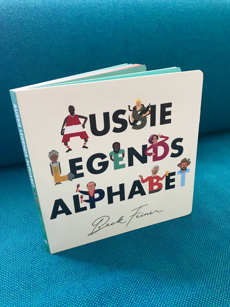 AUSSIE LEGENDS ALPHABET BOOK - SIGNED BY BECK FEINER