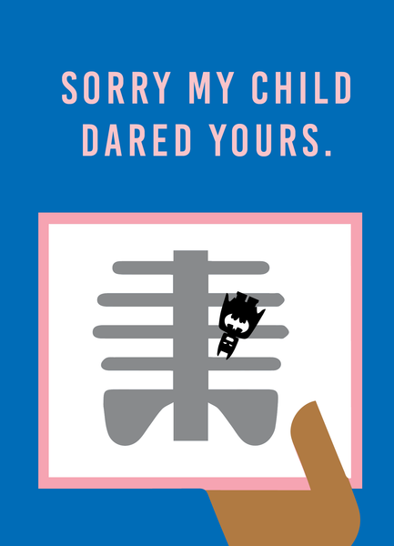 'SORRY MY CHILD ... '  CARD SET     (PRE-ORDER NOW)