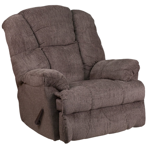 Chocolate Chenille Recliner