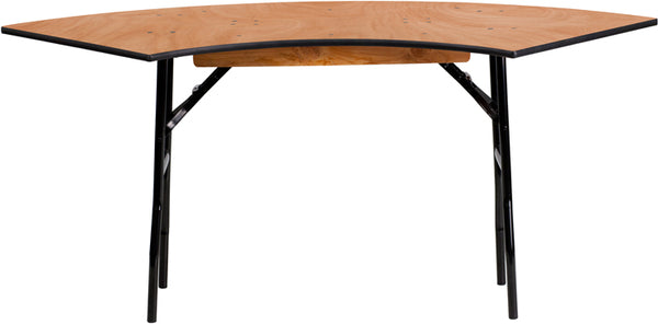 5.5x2FT Serp Wood Table