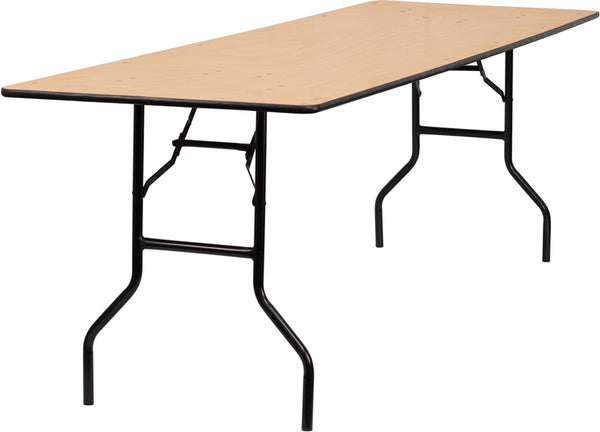 30x96 Wood Fold Table