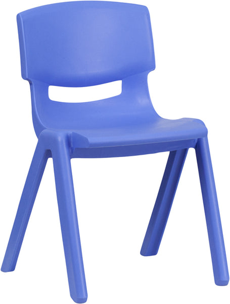 Red Plastic Stack Chair