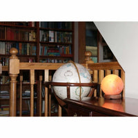 Accentuations 7-inch Sphere-shaped Himalayan Salt Lamp With Dimmer - Desk Lamps