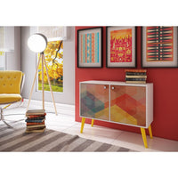 Avesta 3-shelf Side Table Accentuations - Coffee Console Sofa & End Tables