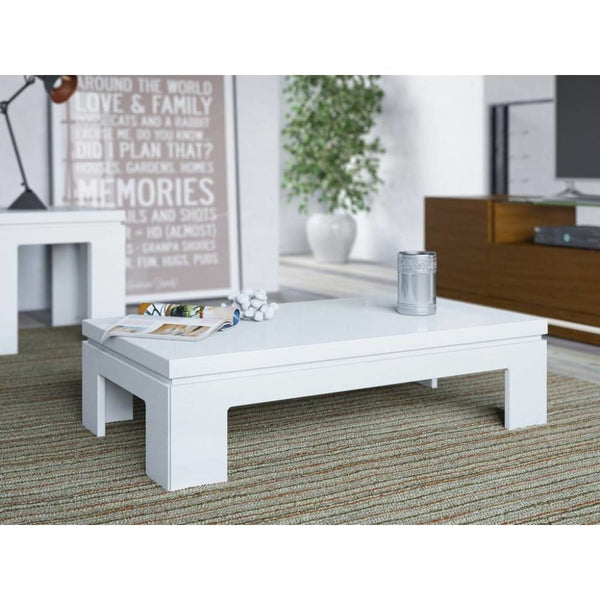 Bridge 2.0 41.65-inch Modern Accent Side Coffee Table - Coffee Console Sofa & End Tables