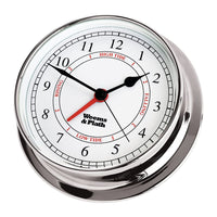 Chrome Endurance 125 Time & Tide Clock - Nautical & Weather Instruments