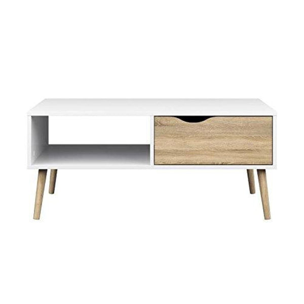 Diana Coffee Table White Oak - Coffee Console Sofa & End Tables