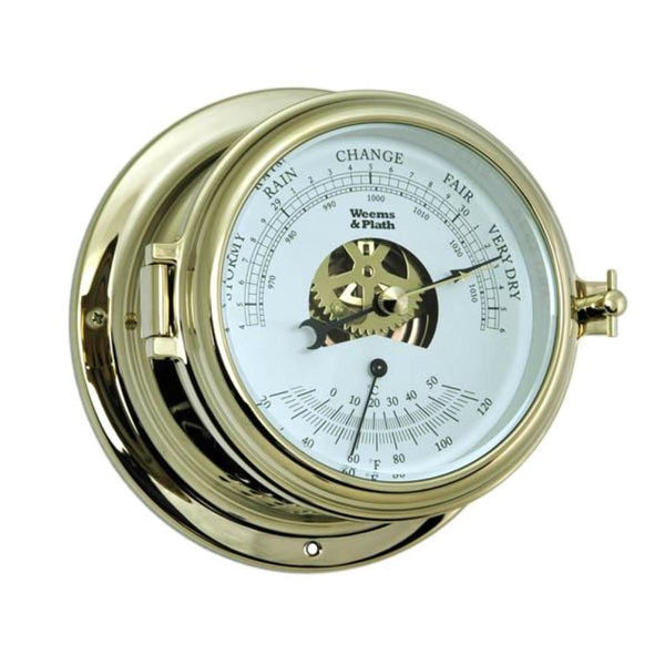 Endurance II 115 Barometer & Thermometer - Nautical & Weather Instruments
