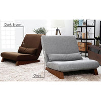 Floor Folding Single Seat Sofa Bed Modern Fabric Japanese Armless Lounge Recliner - Chairs Loveseats Funtons Sofas Sectionals