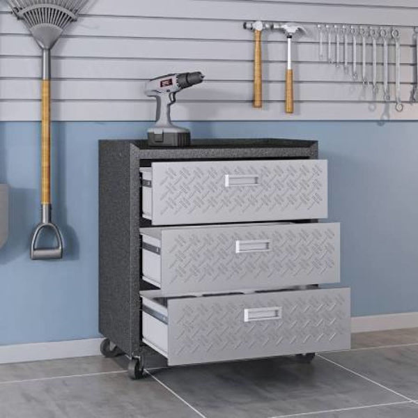 Fortress 31.5 Mobile Garage Chest with Drawers - Garage Furniture