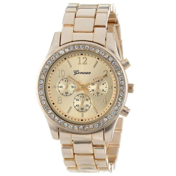 Gold Luxury Relogio Feminino Brand Watches - Watches