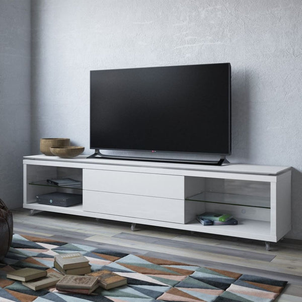 Lincoln TV Stand 2.4 with Silicon Casters - TV Stands & Entertainment Centers