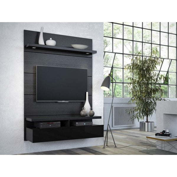 Manhattan Comfort Cabrini 1.2 Floating Wall Theater Entertainment Center - TV Stands & Entertainment Centers