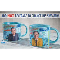 Mister Rogers Sweater Changing Mug - Mugs & Cups