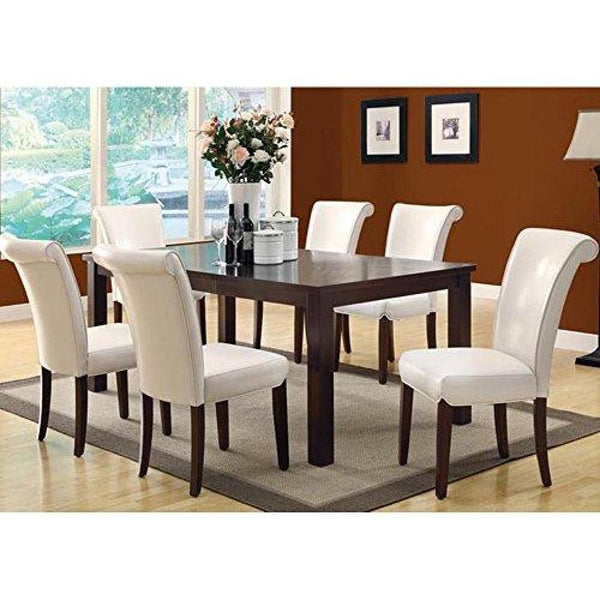 Monarch Specialties Extention Leaf Dining Table Espresso 78L - Dining Room & Kitchen Tables