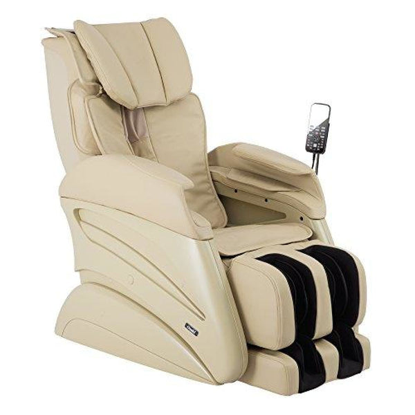 Osaki TW-Chiro 3D Body Scanning X-Large Size Massage Chair - Beige - Electric Massage Chairs