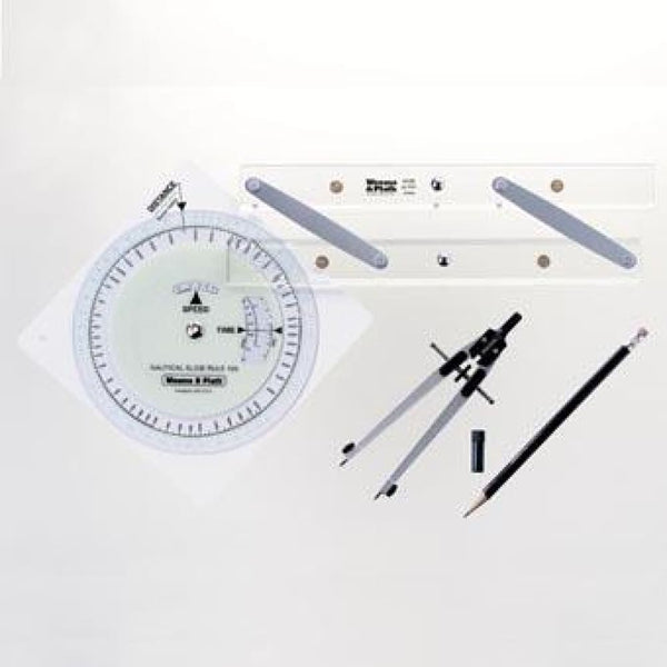 Primary Navigation Set - Nautical & Weather Instruments