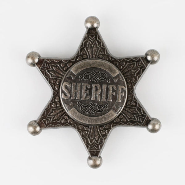 Sheriff Star Stress and Anxiety Hand Fidget Spinner - Fidget Spinners