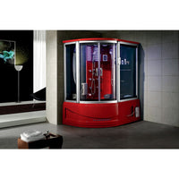Siena Steam Shower (10 Year Warranty) - Red / Right - Steam Showers